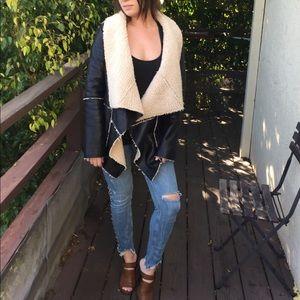 Jackets & Blazers - Faux shearling coat